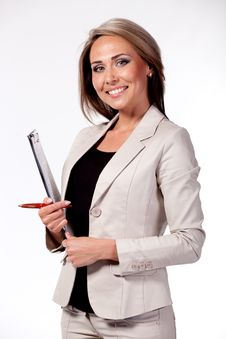 Free Business Woman Stock Photography - 14163012
