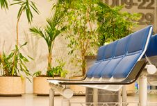 Free Waiting Room Of An Airport Stock Image - 14163521