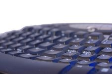 Free Keyboard On Isolated White With Text Space Stock Photography - 14163682