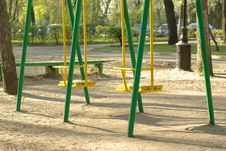 Free Swing Set Stock Photo - 14164190