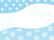 Vector Background With A Floral Pattern Stock Photography