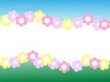 Vector Background With A Floral Pattern