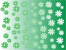 Free Vector Beautiful Background With Flower Stock Image - 14164221