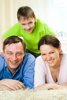 Free Young Parents With Her Son Stock Photos - 14165283