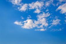 The Sky With Clouds. Royalty Free Stock Photos
