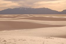 White Sands 8126 Royalty Free Stock Images