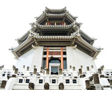Pagoda. Traditional Chinese Temple Stock Image