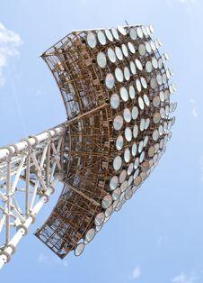 Free Stadium Light Tower Stock Image - 14166791