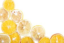 Dried Orange Royalty Free Stock Photos