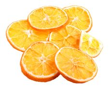 Dried Orange Stock Image