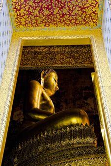 Free Golden Buddha Stock Photo - 14168190