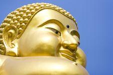 Free Golden Buddha Stock Photo - 14168230