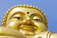 Free Golden Buddha Royalty Free Stock Photography - 14168237