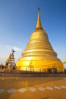 Free Golden Pagoda Royalty Free Stock Image - 14168246