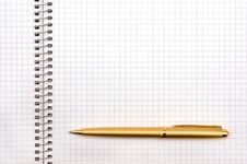 Free Notepad And Pen Stock Photo - 14168530
