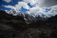 Free Snow Peaks And Mountains In Peru Stock Photos - 14168813