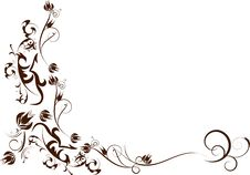 Free Flowers Decorative Design Royalty Free Stock Image - 14169256