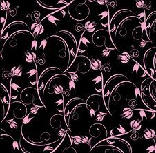 Free Flowers Decorative Design Royalty Free Stock Image - 14169356