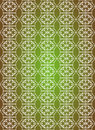 Free White Seamless Flower Pattern In Green Background Royalty Free Stock Photo - 14172985