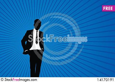 Free Business Man Stock Image - 14170191