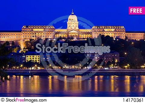 Free Budapest Reflection Stock Image - 14170361