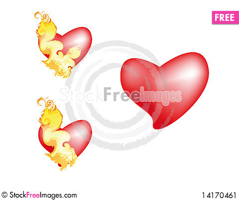 Free Heart Stock Image - 14170461