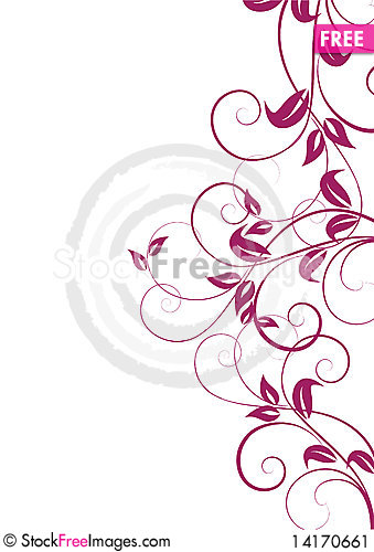 Free Abstract Floral Background Stock Image - 14170661