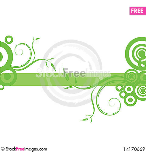 Free Abstract Floral Background Royalty Free Stock Images - 14170669