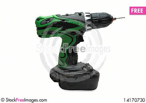 Free Drill Battery Stock Photo - 14170730