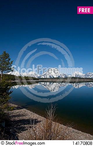 Free Grand Tetons Royalty Free Stock Photos - 14170808