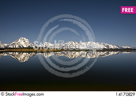 Free Grand Tetons Royalty Free Stock Images - 14170829