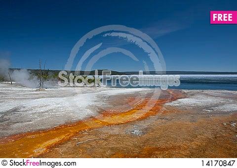 Free Lake Yellowstone Royalty Free Stock Photography - 14170847