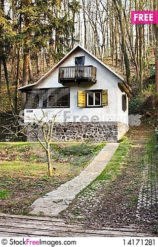 Free Mountain House Stock Image - 14171281