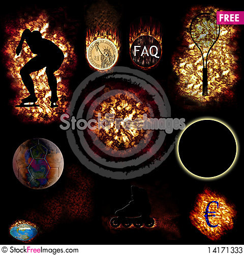 Free Fire Objects Stock Photos - 14171333