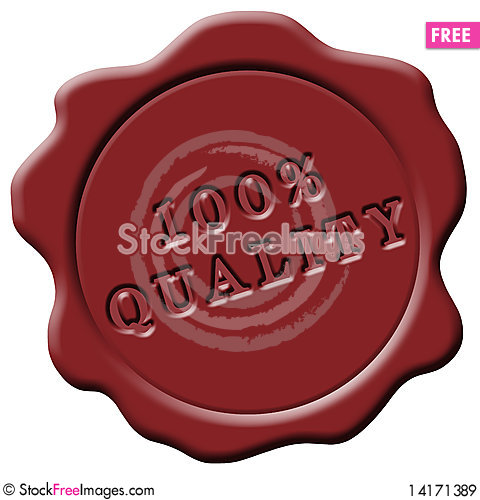 Free Red Wax Seal Royalty Free Stock Images - 14171389