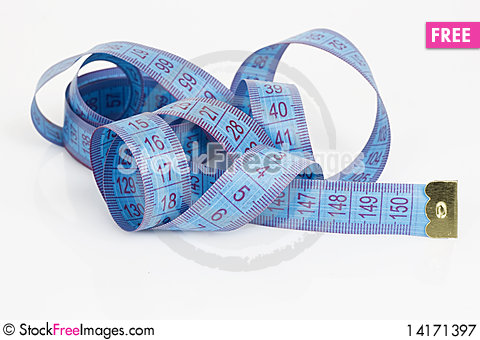 Free Measuring Tape Royalty Free Stock Photography - 14171397