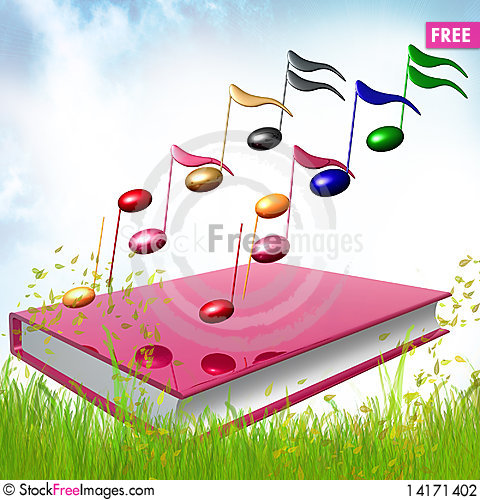 Free Colorful Music Notes Icon Illustration Stock Photography - 14171402