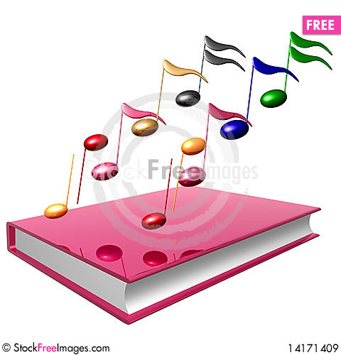 Free Colorful Music Notes Icon Royalty Free Stock Images - 14171409