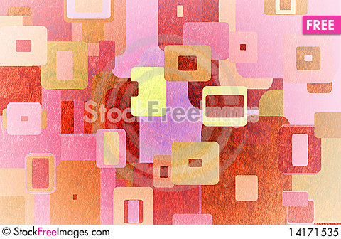 Free Squares On The Grunge Royalty Free Stock Photo - 14171535