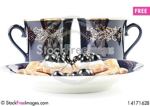 Free Dessert Tea And Cakes Royalty Free Stock Photos - 14171628