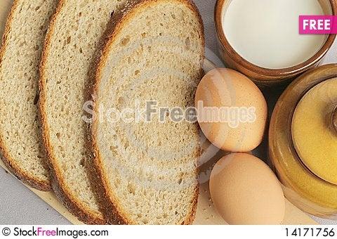 Free Breakfast. Royalty Free Stock Image - 14171756