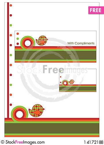 Free Stationery Set Royalty Free Stock Photos - 14172188