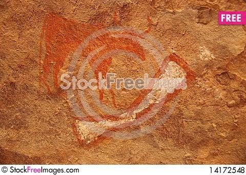 Free Rock Engraving, Libya Royalty Free Stock Photos - 14172548