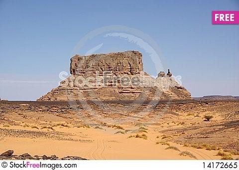 Free Desert In Libya Royalty Free Stock Photo - 14172665