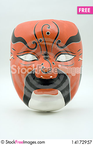 Free Asian Mask Royalty Free Stock Photography - 14172957
