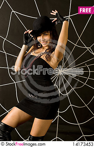 Free Closeup Portrait Of A Woman Stock Photos - 14173453