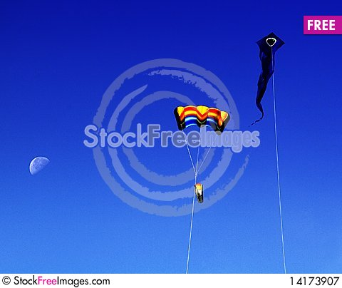 Free Kites Royalty Free Stock Photography - 14173907