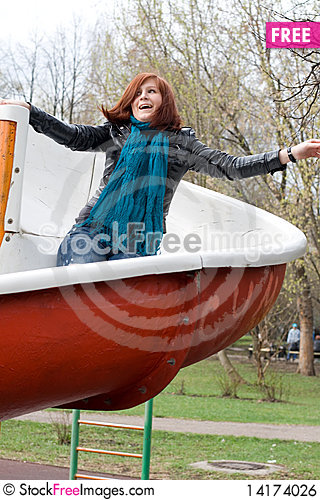 Free Sportive Girl Royalty Free Stock Image - 14174026
