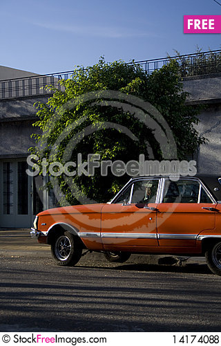 Free Red Vintage Car Royalty Free Stock Photos - 14174088