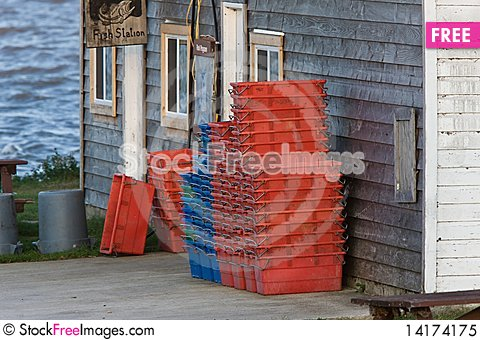 Free Fishing Shack Hecla Isand Manitoba Lake Winnipeg Royalty Free Stock Photo - 14174175